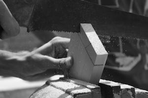 木製 墨つぼ
