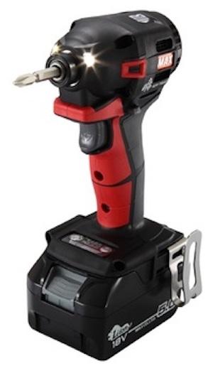 マックス 充電式インパクトドライバー 18/14.4V兼用 PJ-ID152